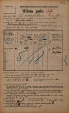 Popis prebivalstva 20. 12. 1921<br />Ljubljana<br />Dunajska cesta 71<br />Population census 20 December 1921