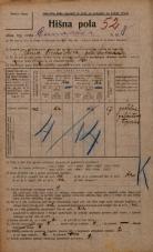 Popis prebivalstva 20. 12. 1921<br />Ljubljana<br />Dunajska cesta 8<br />Population census 20 December 1921