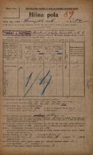 Popis prebivalstva 20. 12. 1921<br />Ljubljana<br />Dunajska cesta 84<br />Population census 20 December 1921