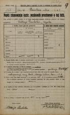 Popis prebivalstva 20. 12. 1921<br />Ljubljana<br />Dunajska cesta - Pražakova ulica 4<br />Population census 20 December 1921