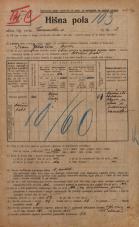 Popis prebivalstva 20. 12. 1921<br />Ljubljana<br />Emonska cesta 2<br />Population census 20 December 1921