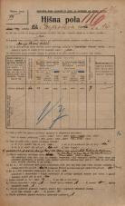 Popis prebivalstva 20. 12. 1921<br />Ljubljana<br />Erjavčeva cesta 16<br />Population census 20 December 1921