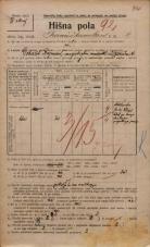 Popis prebivalstva 20. 12. 1921<br />Ljubljana<br />Frančiškanska ulica 8<br />Population census 20 December 1921