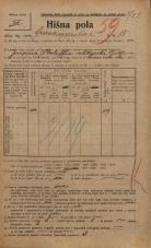 Popis prebivalstva 20. 12. 1921<br />Ljubljana<br />Frankopanska cesta 15<br />Population census 20 December 1921