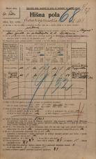 Popis prebivalstva 20. 12. 1921<br />Ljubljana<br />Frankopanska cesta 151<br />Population census 20 December 1921