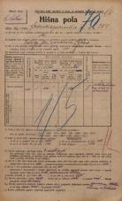 Popis prebivalstva 20. 12. 1921<br />Ljubljana<br />Frankopanska cesta 204<br />Population census 20 December 1921