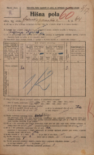 Popis prebivalstva 20. 12. 1921<br />Ljubljana<br />Frankopanska cesta 64<br />Population census 20 December 1921