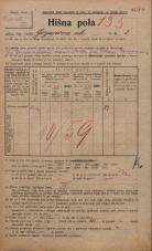Popis prebivalstva 20. 12. 1921<br />Ljubljana<br />Gorjupova ulica 3<br />Population census 20 December 1921