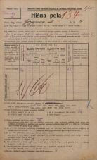 Popis prebivalstva 20. 12. 1921<br />Ljubljana<br />Gorjupova ulica 4<br />Population census 20 December 1921