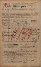 Popis prebivalstva 20. 12. 1921<br />Ljubljana<br />Gosposvetska cesta 12<br />Population census 20 December 1921