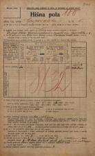 Popis prebivalstva 20. 12. 1921<br />Ljubljana<br />Gosposvetska cesta 5<br />Population census 20 December 1921