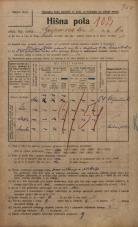 Popis prebivalstva 20. 12. 1921<br />Ljubljana<br />Gosposvetska cesta 6a<br />Population census 20 December 1921