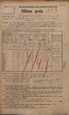 Popis prebivalstva 20. 12. 1921<br />Ljubljana<br />Gosposvetska cesta 7<br />Population census 20 December 1921