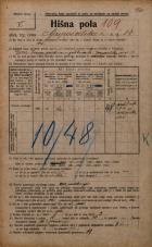 Popis prebivalstva 20. 12. 1921<br />Ljubljana<br />Gosposvetska cesta 14<br />Population census 20 December 1921