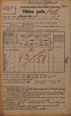Popis prebivalstva 20. 12. 1921<br />Ljubljana<br />Gradaška ulica 8<br />Population census 20 December 1921