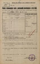 Popis prebivalstva 20. 12. 1921<br />Ljubljana<br />Gradaška ulica NN1<br />Population census 20 December 1921