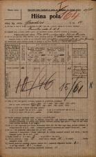 Popis prebivalstva 20. 12. 1921<br />Ljubljana<br />Gradišče 14<br />Population census 20 December 1921