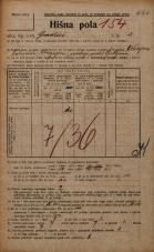 Popis prebivalstva 20. 12. 1921<br />Ljubljana<br />Gradišče 2<br />Population census 20 December 1921