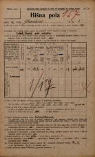 Popis prebivalstva 20. 12. 1921<br />Ljubljana<br />Gradišče 5<br />Population census 20 December 1921