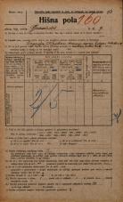Popis prebivalstva 20. 12. 1921<br />Ljubljana<br />Gradišče 9<br />Population census 20 December 1921