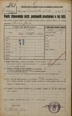 Popis prebivalstva 20. 12. 1921<br />Ljubljana<br />Gradišče - Gradaška ulica 18<br />Population census 20 December 1921