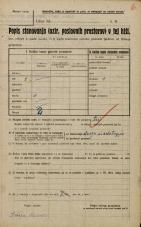 Popis prebivalstva 20. 12. 1921<br />Ljubljana<br />Gradišče NN2<br />Population census 20 December 1921