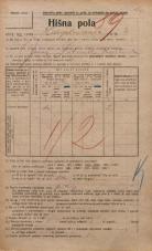 Popis prebivalstva 20. 12. 1921<br />Ljubljana<br />Hauptmanca 2<br />Population census 20 December 1921