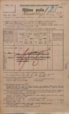 Popis prebivalstva 20. 12. 1921<br />Ljubljana<br />Hradeckega vas 47<br />Population census 20 December 1921