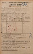 Popis prebivalstva 20. 12. 1921<br />Ljubljana<br />Hradeckega vas 62<br />Population census 20 December 1921