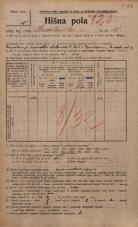 Popis prebivalstva 20. 12. 1921<br />Ljubljana<br />Hranilniška cesta 10<br />Population census 20 December 1921