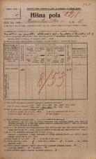 Popis prebivalstva 20. 12. 1921<br />Ljubljana<br />Hranilniška cesta 11<br />Population census 20 December 1921
