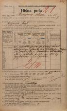 Popis prebivalstva 20. 12. 1921<br />Ljubljana<br />Hrenova ulica 11<br />Population census 20 December 1921