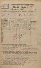 Popis prebivalstva 20. 12. 1921<br />Ljubljana<br />Hrenova ulica 14<br />Population census 20 December 1921