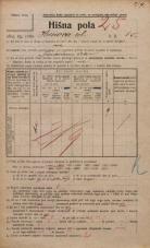 Popis prebivalstva 20. 12. 1921<br />Ljubljana<br />Hrenova ulica 15<br />Population census 20 December 1921