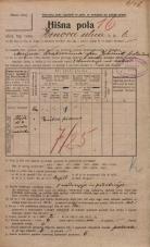 Popis prebivalstva 20. 12. 1921<br />Ljubljana<br />Hrenova ulica 6<br />Population census 20 December 1921