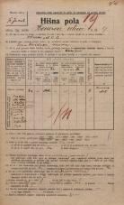Popis prebivalstva 20. 12. 1921<br />Ljubljana<br />Hrenova ulica 9<br />Population census 20 December 1921