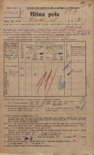Popis prebivalstva 20. 12. 1921<br />Ljubljana<br />Ilirska ulica 21<br />Population census 20 December 1921