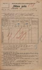 Popis prebivalstva 20. 12. 1921<br />Ljubljana<br />Ilirska ulica 27<br />Population census 20 December 1921