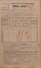 Popis prebivalstva 20. 12. 1921<br />Ljubljana<br />Ilovca 10<br />Population census 20 December 1921