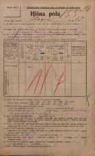 Popis prebivalstva 20. 12. 1921<br />Ljubljana<br />Ilovca 15<br />Population census 20 December 1921