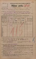Popis prebivalstva 20. 12. 1921<br />Ljubljana<br />Ilovca 20<br />Population census 20 December 1921