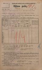 Popis prebivalstva 20. 12. 1921<br />Ljubljana<br />Ilovca 21<br />Population census 20 December 1921