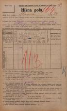 Popis prebivalstva 20. 12. 1921<br />Ljubljana<br />Ilovca 24<br />Population census 20 December 1921