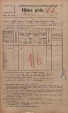 Popis prebivalstva 20. 12. 1921<br />Ljubljana<br />Ilovca 26<br />Population census 20 December 1921