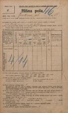 Popis prebivalstva 20. 12. 1921<br />Ljubljana<br />Jenkova ulica 15<br />Population census 20 December 1921