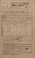 Popis prebivalstva 20. 12. 1921<br />Ljubljana<br />Jenkova ulica 20<br />Population census 20 December 1921