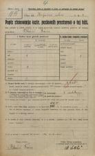 Popis prebivalstva 20. 12. 1921<br />Ljubljana<br />Jeranova ulica - Konjušna ulica 4<br />Population census 20 December 1921