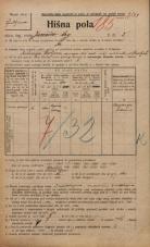 Popis prebivalstva 20. 12. 1921<br />Ljubljana<br />Jurčičev trg 2<br />Population census 20 December 1921