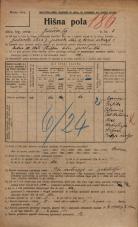 Popis prebivalstva 20. 12. 1921<br />Ljubljana<br />Jurčičev trg 3<br />Population census 20 December 1921