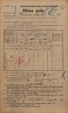 Popis prebivalstva 20. 12. 1921<br />Ljubljana<br />Kamniška ulica 140<br />Population census 20 December 1921